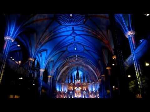 Notre Dame Basilica Light Show Montreal