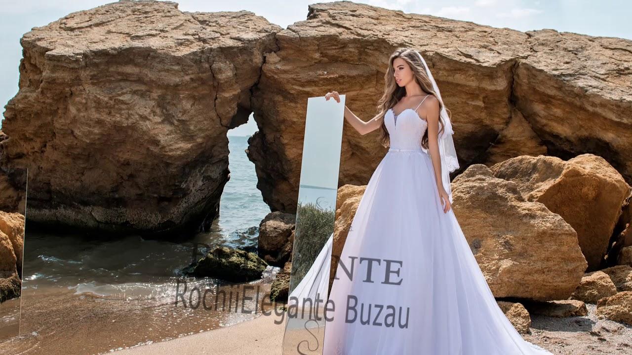 aspect detaliat cel mai ieftin pret vânzare ieftină Rochii Elegante Buzau - model rochie mireasa 2018 - YouTube