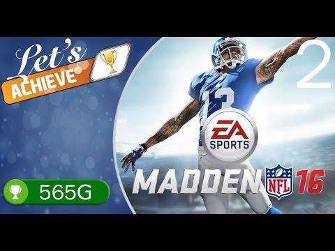 MADDEN NFL 16 (565G) - Let