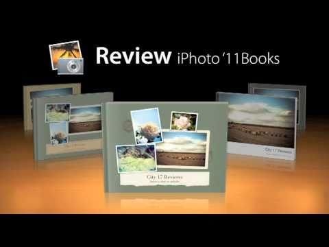 apple iphoto books review youtube