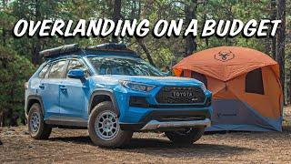 "Testing ""Overland"" Gear fŗom Amazon! RAV4 Off-roading"