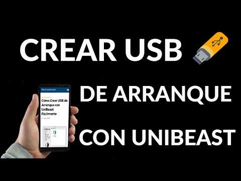 Cómo Crear un USB de Arranque con UniBeast