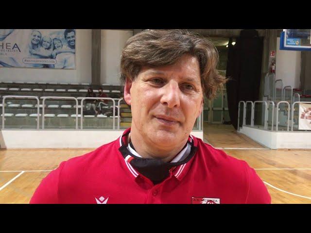 BASKET - Coach Sandro Sinigaglia (AS Vicenza) dopo Santa Milano