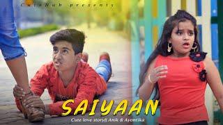 JASS MANAK : SAIYAAN (Full Song) Anik | Ayontika | New Punjabi Song 2021 | Cute Love Story | CuteHub