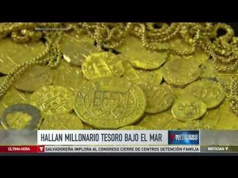 Familia descubre tesoro bajo el mar en la Florida   Noticias   Telemundo Noticias