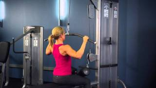 Life Fitness Optima Series Lat Pullldown Low Row Instructions