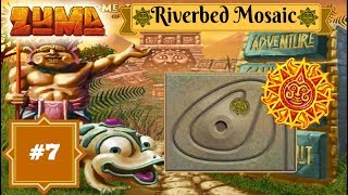 Zuma Deluxe - Aflevering 7 - Gauntlet Mode - Riverbed Mosaic!