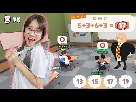 Chị Vê Một Ngày Đi Học Trong Play Together - Vê Vê Official