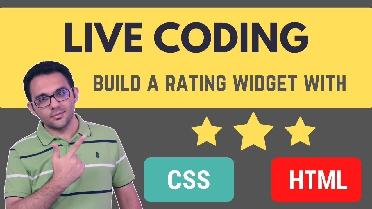 How to Create a Rating Widget with HTML and CSS
