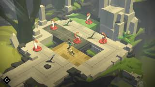Lara Croft Go Gameplay   Humble Bundle April 2018