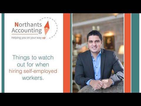 Things to look out for when hiring a self-employed worker