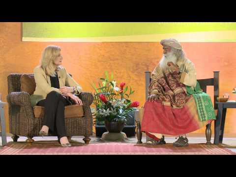 Working Together for World Peace - Arianna Huffington and Sadhguru