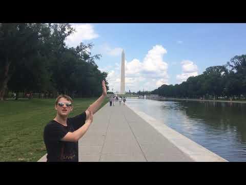 Holding Up the Washington Monument