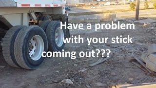 Dump trailer air operated lift gate lifting slowly/stuck