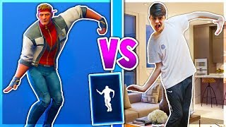 Kid Does Season 6 Fortnite Dances in Real Life... (Season 6 Battle Pass Dances Fortnite)