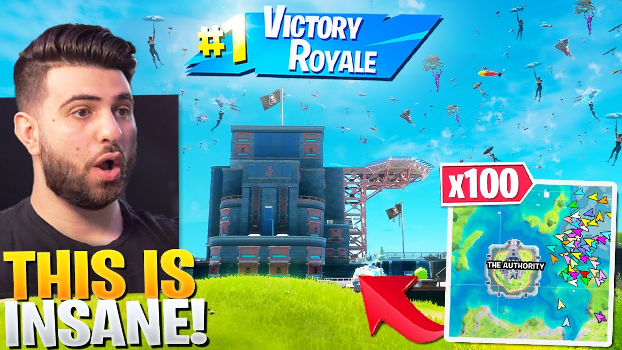 Download I Told 100 Streamsnipers To Drop AUTHORITY! (CRAZY) - Fortnite Season 3