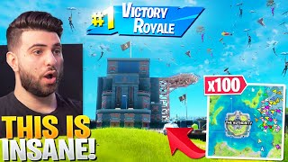 I Told 100 Streamsnipers To Drop AUTHORITY! (CRAZY) - Fortnite Season 3