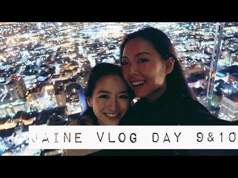 Jaine Vlog Day 9&10△Griffith Park, Skyslide夜景+MORE   ItsJessicaW