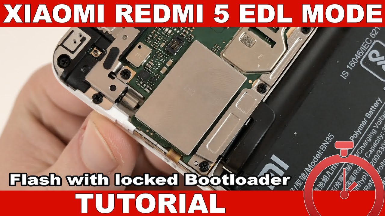 Xiaomi Redmi 5 Tutorial: Enter EDL Mode & Flash With Locked Bootloader
