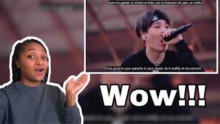 American React to BTS Mic Drop