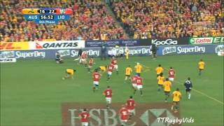 British & Irish Lions 2013 Tour: Australia vs British & Irish Lions test 3