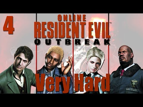 Resident Evil Outbreak Online Co-op - Stage 3 The Hive (VERY HARD) Ep 4