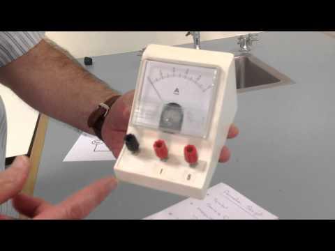 Ammeter In Series Circuit