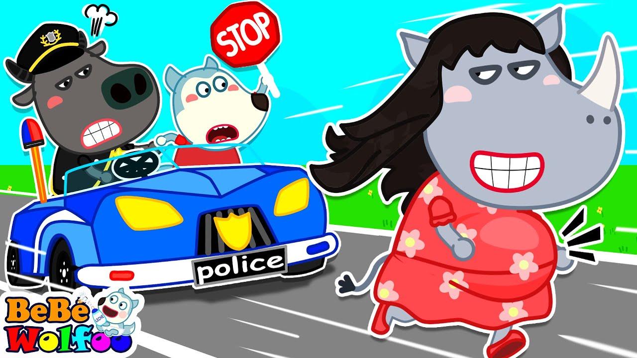Wolfoo ayuda a la policía a atrapar al ladrón - Wolfoo Aprende Tips Seguros   Bebé Wolfoo