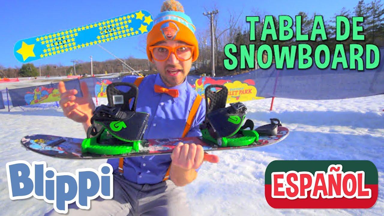 Blippi Va a Hacer Snowboard | Aprende con Blippi | Blippi Español | Moonbug Kids
