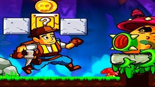 Jungle World Super Adventure - Android Gameplay - Arcade Platformer Game by GameStudioMini