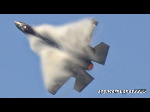 F-35A Lightning II Demo Huntington Beach Air Show 2019