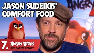 Jason Sudeikis' Favorite Food is Totally Nuts! – Angry Birds Red Carpet Report Ep. 7