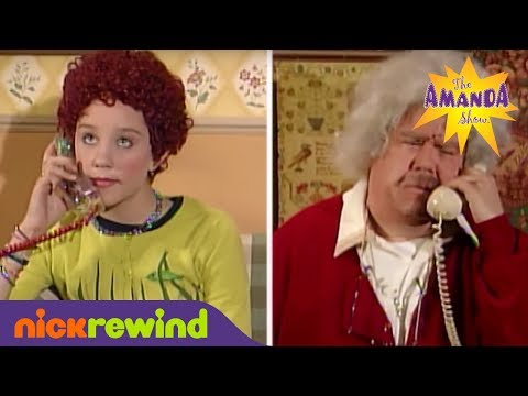 Amanda Bynes' Prank Call Escalates Quickly | The Amanda Show | The Splat