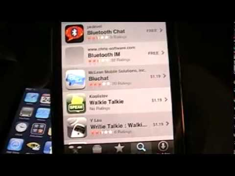 How To Bluetooth IM Chat On IPod Touch/iPhone