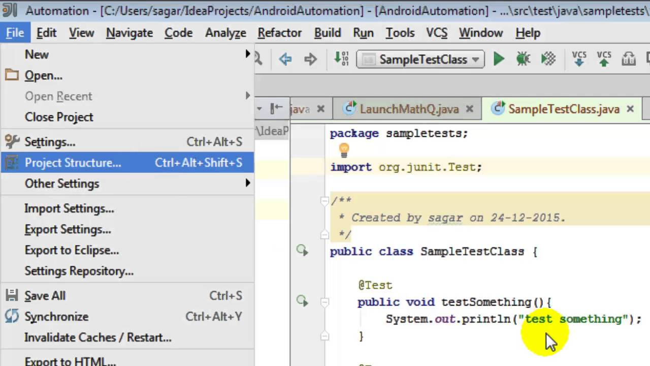 How to change java version in intellij IDEA