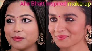 Alia Bhatt inspired makeup | Badrinath ki dulhania movie | tutorial by Priyanka