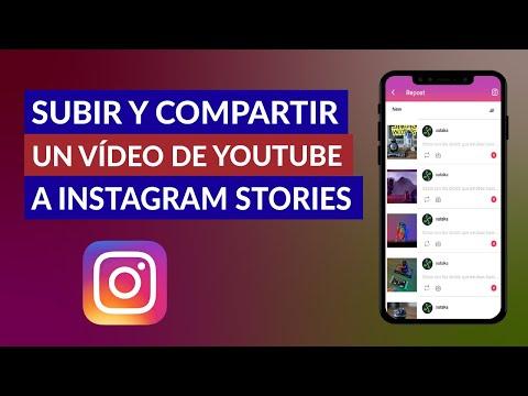 Cómo Subir y Compartir un Vídeo de YouTube a Instagram Stories Android - Muy Fácil