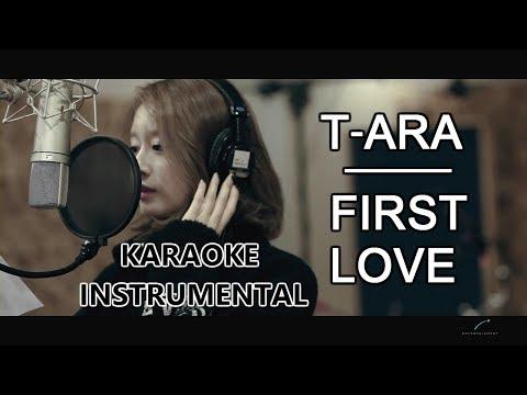 T-ARA - FIRST LOVE FEAT. EB KARAOKE/INSTRUMENTAL
