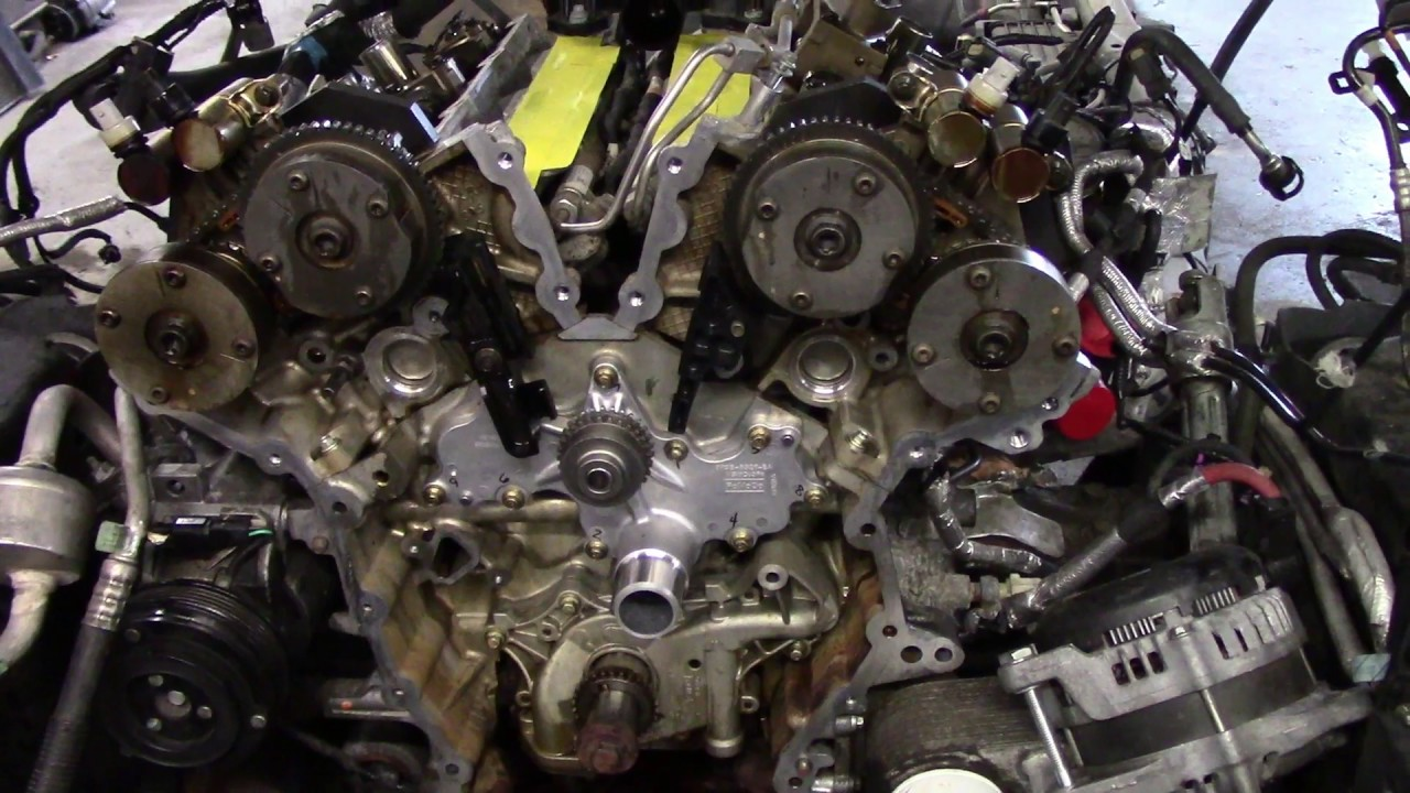2011 F 150 Timing Chain Stretch Part 3 Youtube