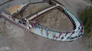 Drone's Eye View - Glacier Skywalk