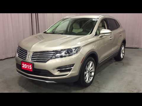 Beige 2015 Lincoln MKC AWD 4dr Review Oshawa null - Mills Motors Buick GMC