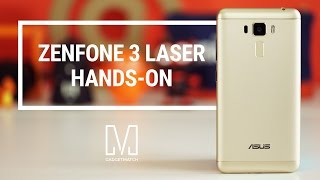 Asus Zenfone 3 Laser Hands-On