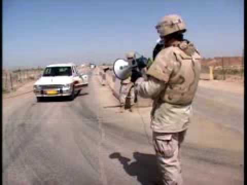 Iraq War: Soldiers Use Electronic Translating Device