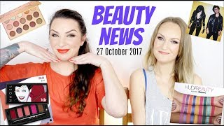 BEAUTY NEWS - 27 October 2017 |  Colourpop Golden State Of Mind | Huda Beauty Obsession Palettes