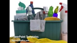 Cleaning PowerPoint Template Backgrounds - DigitalOfficePro #09105