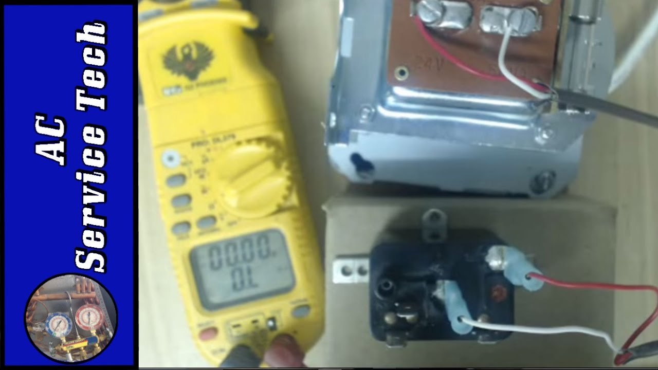 hvac electrical troubleshooting fan relay  [ 1280 x 720 Pixel ]