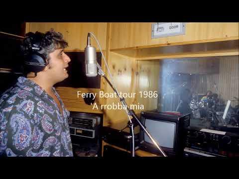 Pino Daniele live 'A rrobba mia Ferry boat tour 1986 Messina