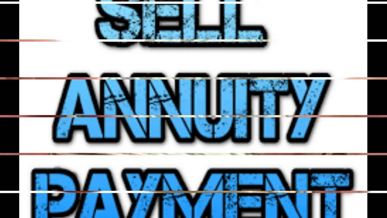 Sell annuity payment - YouTube