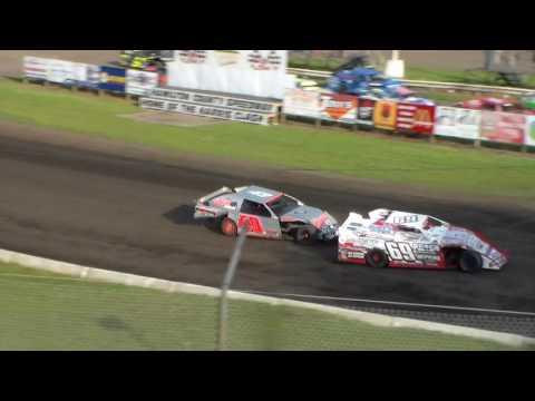 Sport Mod Heat 2 @ Hamilton County Speedway 07/11/17