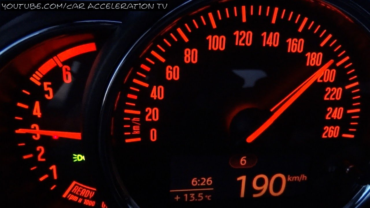 Mini One D Clubman Acceleration 0 100 Top Speed Test 2016 Youtube